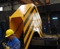 Diseño e instalación de pasarela y escaleras de alta robustez