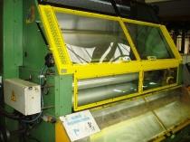 Diseño fabricación y montaje de protección a medida para línea de formateado de lámina de aluminio