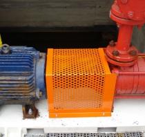 Diseño y montaje de protección para eje motor