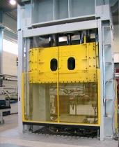 Instalación de portones levadizos especiales en prensas